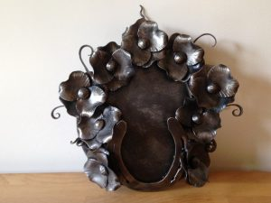 Wrought Iron Wreath of Respect